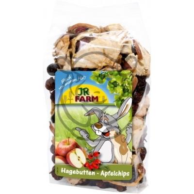 JR Farm Šípky a plátky jablek 125g