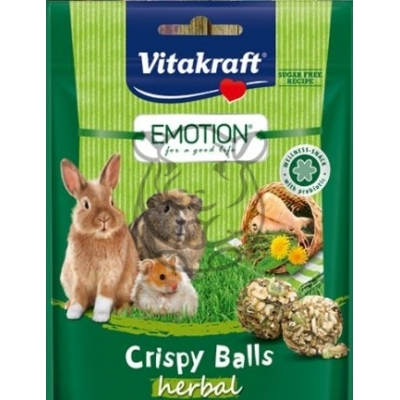 Vitakraft Emotion Crispy Balls Herbals 80g