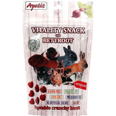 Apetit Vitality snack červená řepa 80g