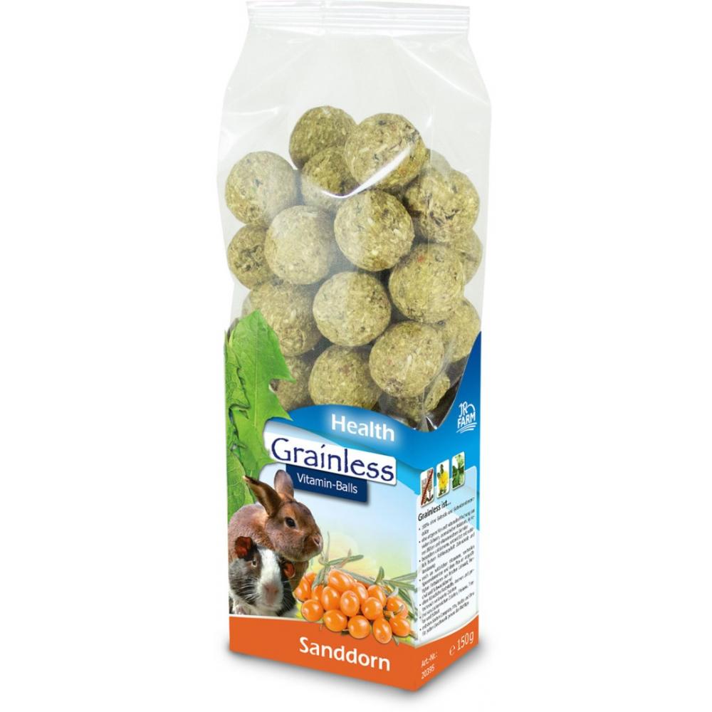 JR Farm Bezobilné kuličky s vitamíny a rakytníkem 150 g