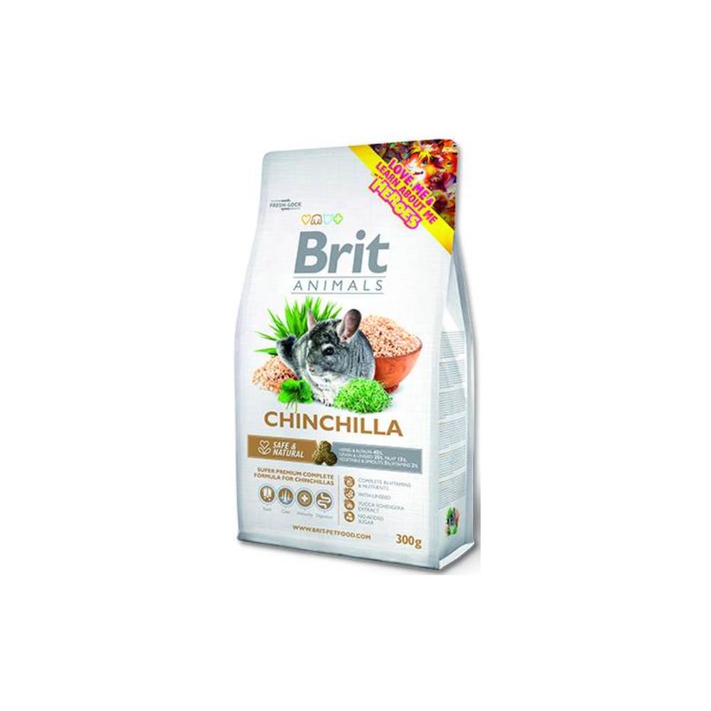 Brit Animals Chinchilla Complete 300g (exp. 13.11.2021)
