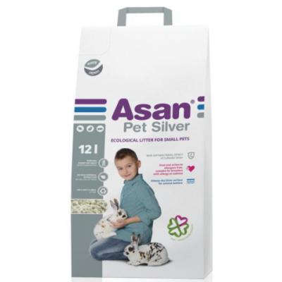 Asan Pet Silver 12L podestýlka
