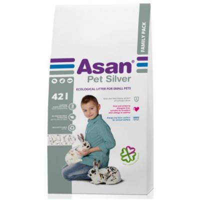 Asan Pet Silver 42L podestýlka
