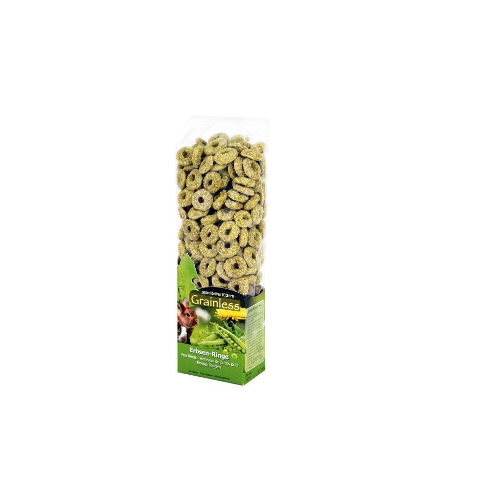 JR Farm - Bezobilné hráškové kroužky 150 g
