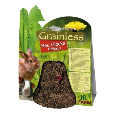 JR Farm Grainless Heu-Glocke Hibiskus 125g