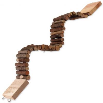 Dřevěný most závěsný 55 x 7cm