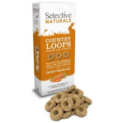 Supreme Selective snack Naturals Country Loops 80 g