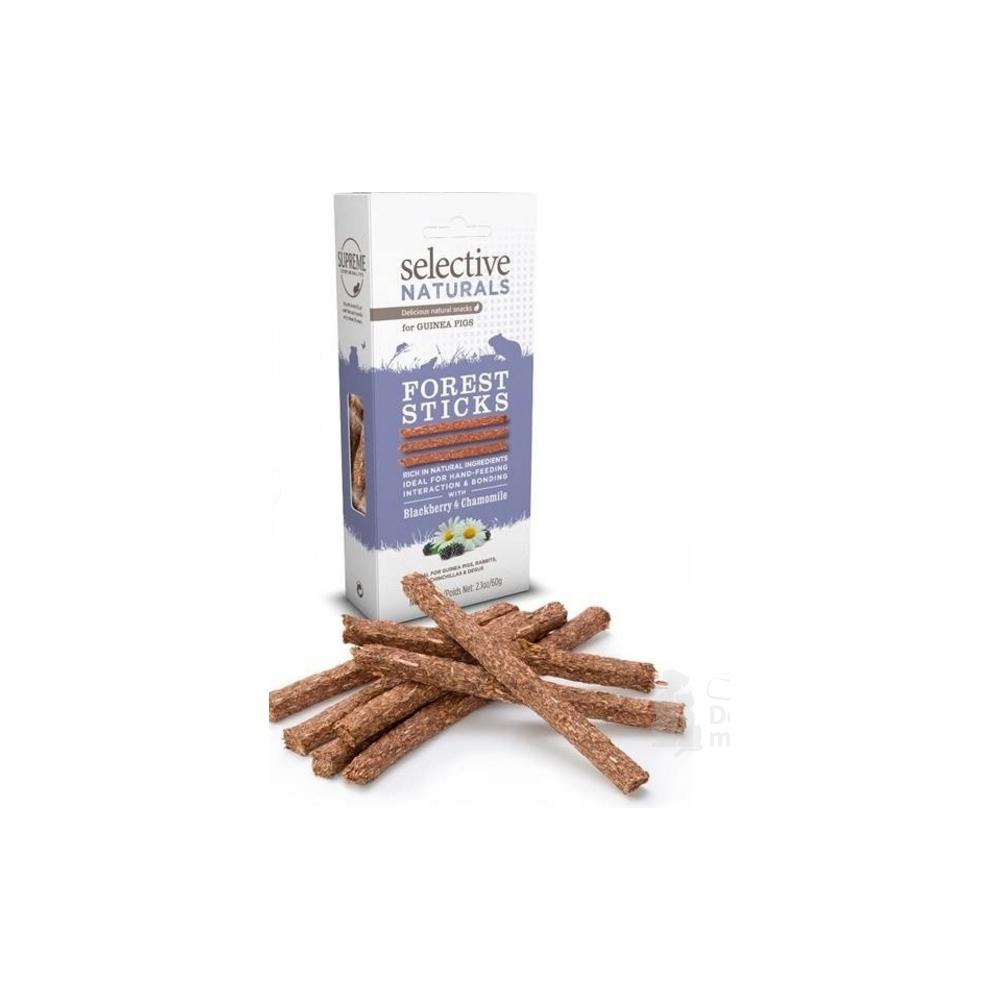 Supreme Selective snack Naturals Forest Sticks 60g