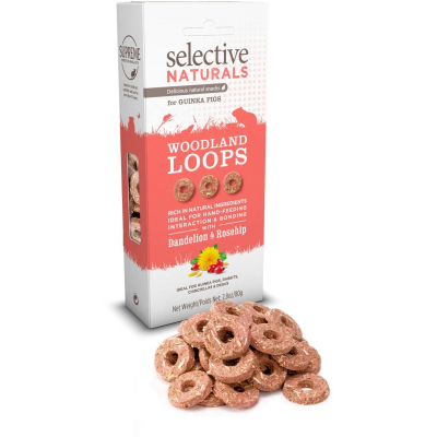 Supreme Selective snack Naturals Woodland Loops 80 g