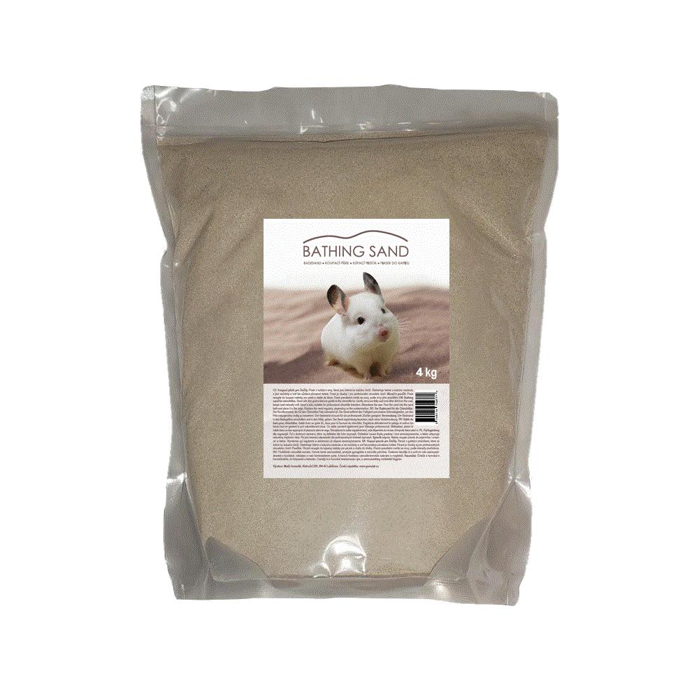 Sepiolite koupací písek 4kg DOYPACK