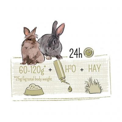 Witte molen PUUR Rabbit Sensitive 800g