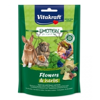 Vitakraft Emotion Flowers and Herbs 70g